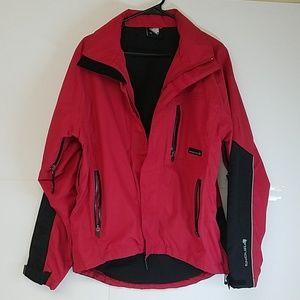 Endura Men's Red and Black Jacket